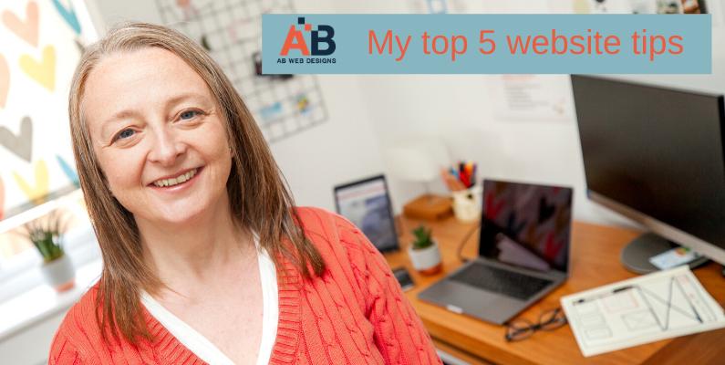5 Top Website Tips!